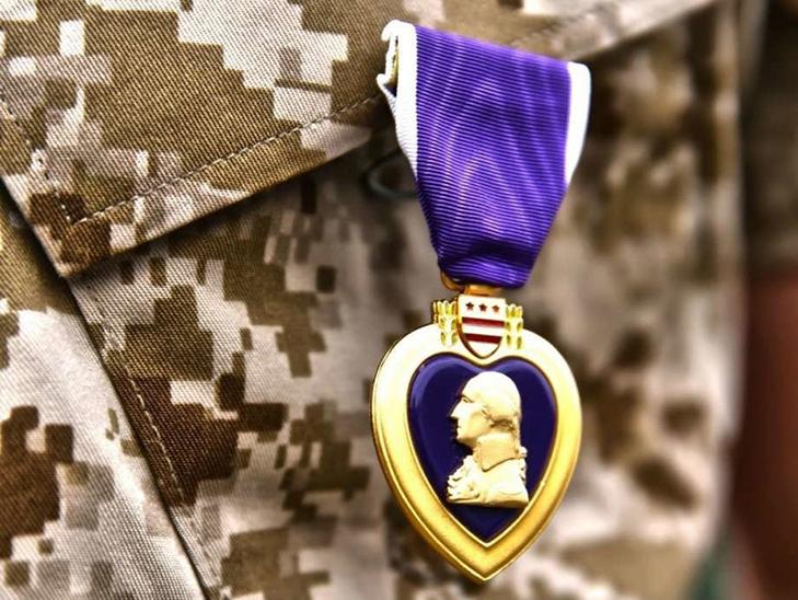 Медаль «Пурпурное сердце» - кому вручалась