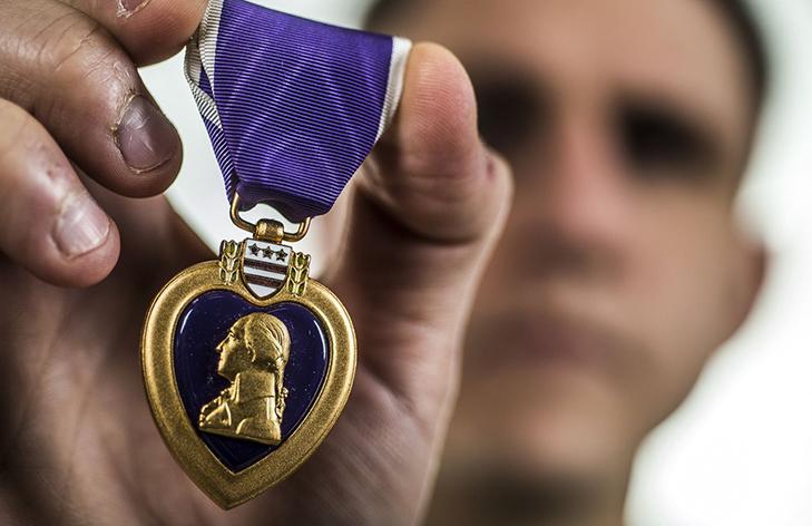 Медаль «Пурпурное сердце» - за что вручается