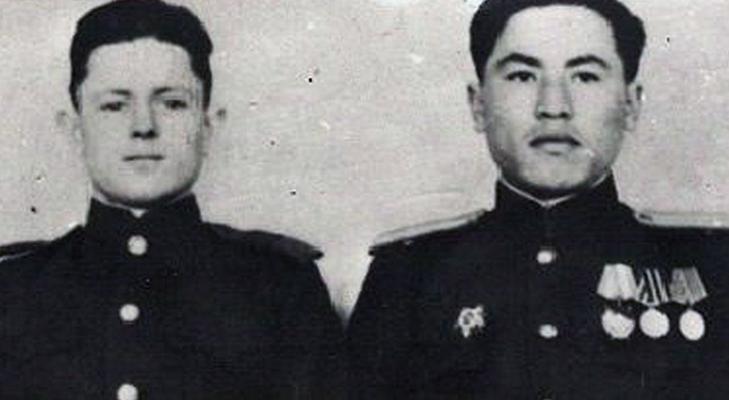 Григорий Булатов и Рахимжан Кошкарбаев