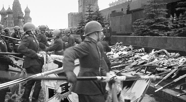 Первый Парад Победы 1945 год