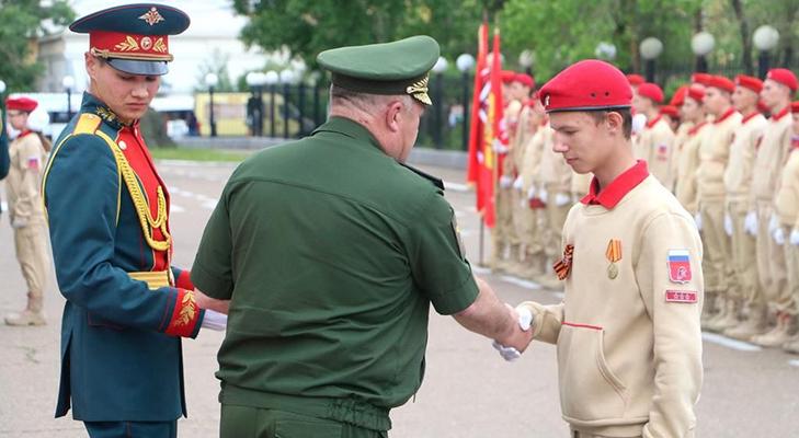 Медаль за парад - награждение
