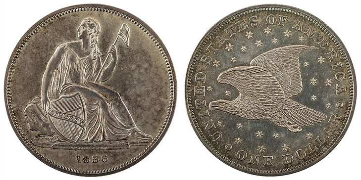 Серебряный доллар Гобрехта