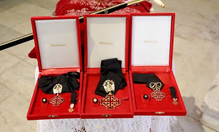 Орден Гроба Господня - знаки отличия