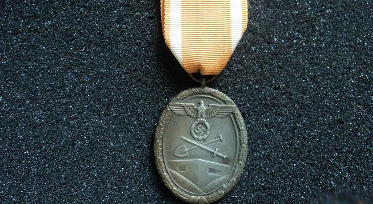 """Медаль """"За сооружение атлантического вала"""""""