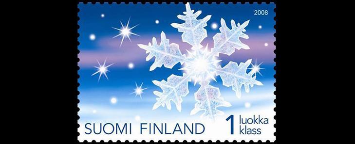 Прозрачная марка Финляндии