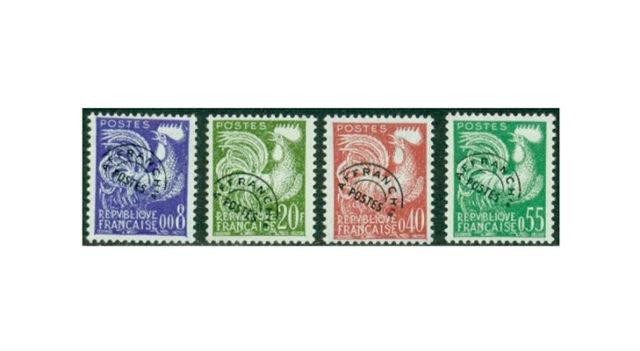 Почтовые марки Франции