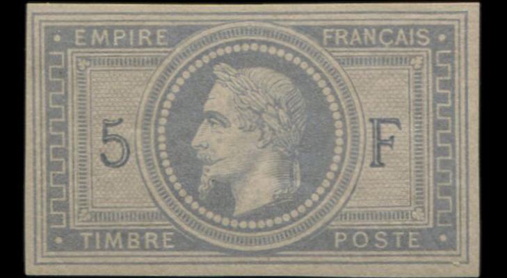 «Серо-сиреневая на лавандовой бумаге», 1869