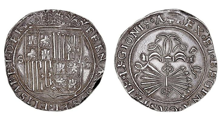 Серебряное испанское песо