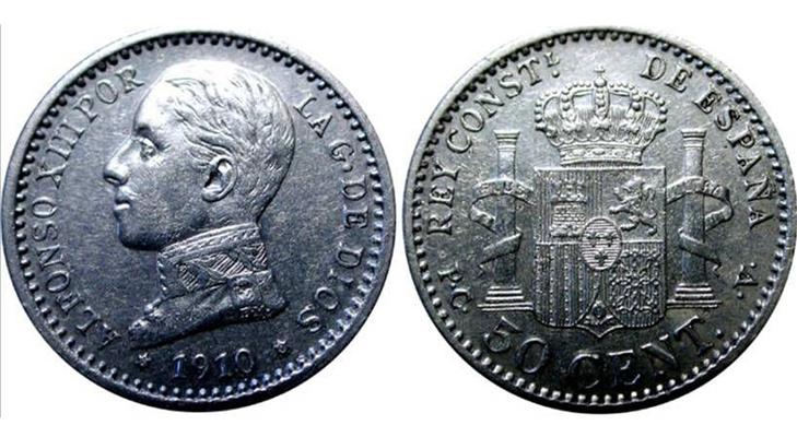 50 сентимо серебро