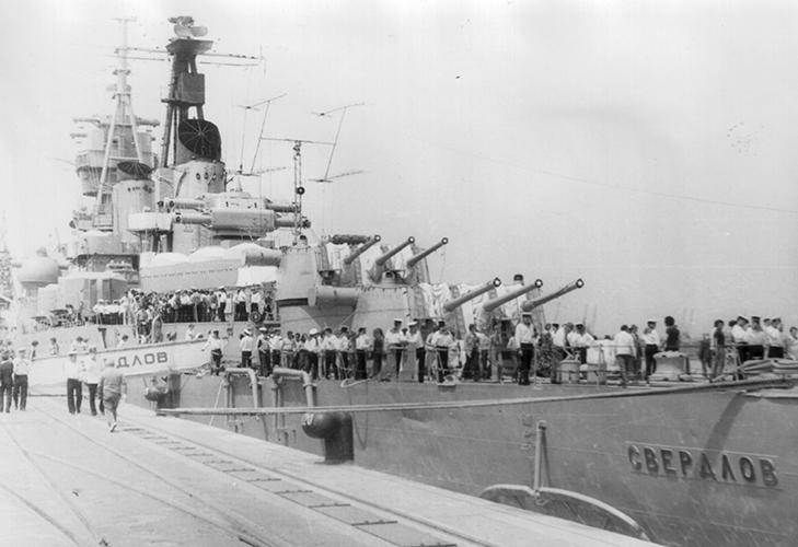 Крейсер «Свердлов»