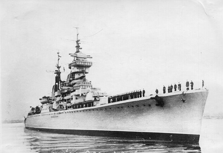 Крейсер «Орджоникидзе»