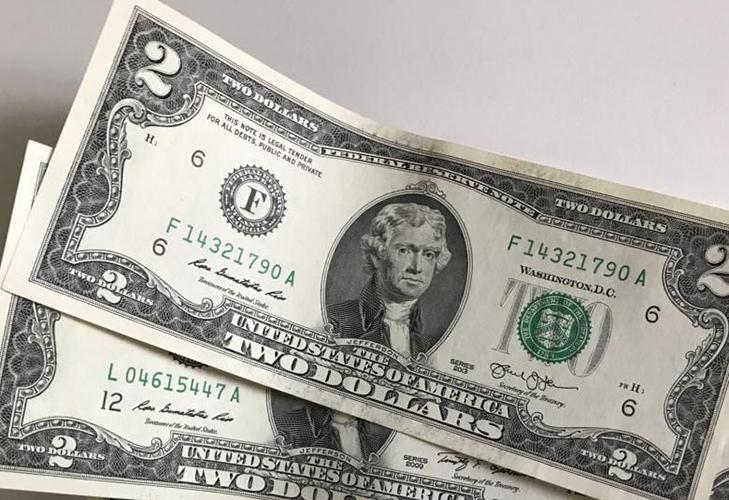 Банкнота 2 доллара - популярность