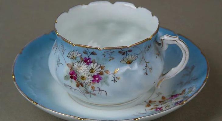 Кузнецовский фарфор - чайная пара