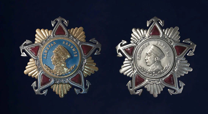 Орден Нахимова 1 и 2 степени