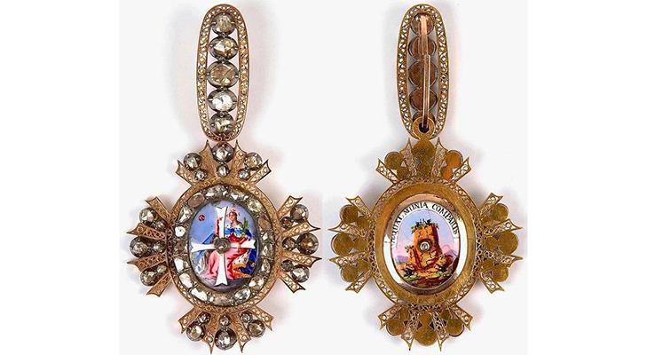 Орден Святой Екатерины 2 степени
