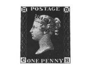 Первая почтовая марка