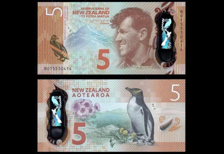 Новозеландский доллар из пластика