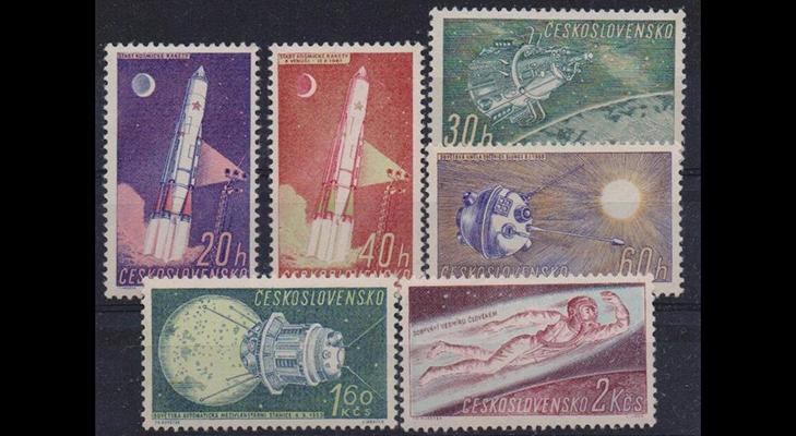Чехословацкие марки Советского периода