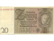 Банкноты рейхсмарки