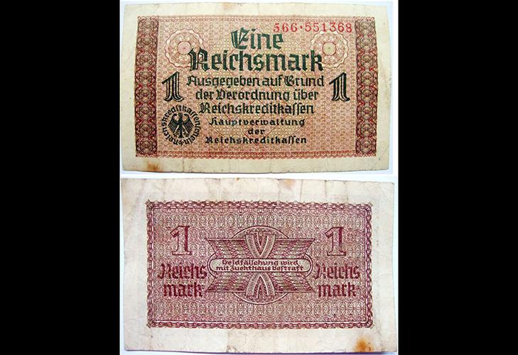 Оккупационные бумажные деньги Третьего Рейха