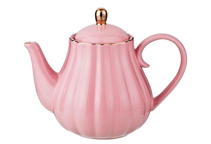 Фарфоровый чайник - объем