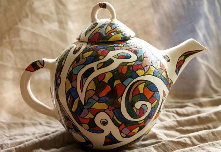 Фарфоровый чайник - уход