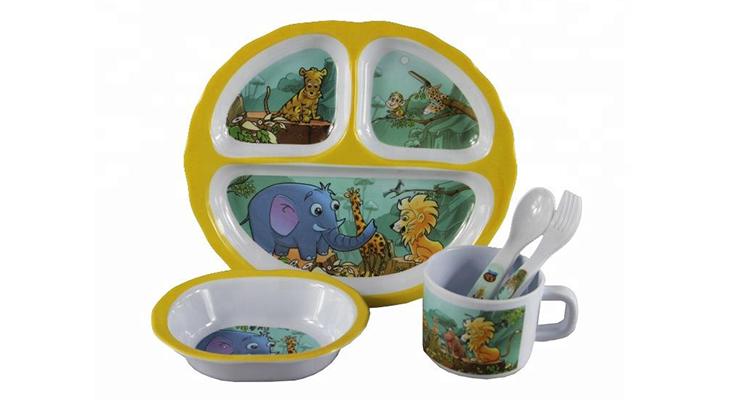 Меламиновая детская посуда