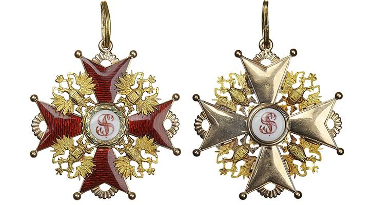 Орден Святого Станислава 1 ст