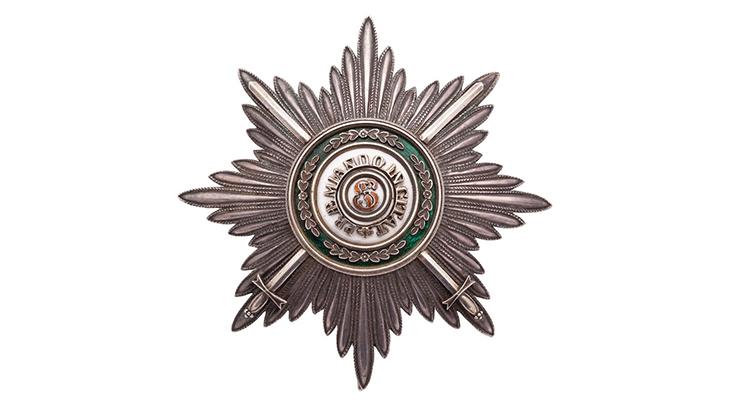 Звезда Императорского и Царского Ордена Св. Станислава