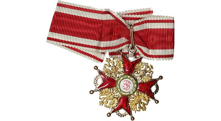 Орден Святого Станислава 3 ст