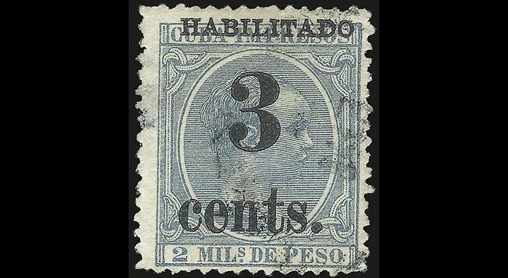 Почтовые марки Кубы времен американской оккупации
