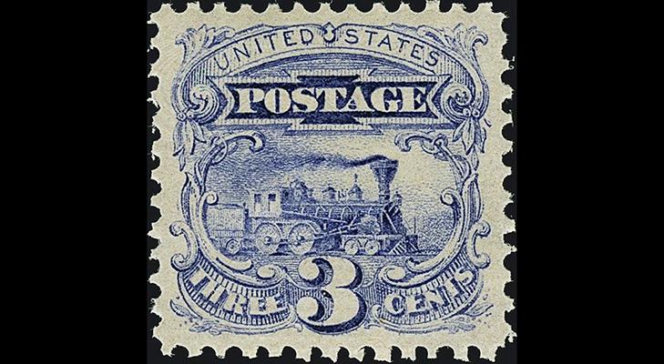 Почтовая марка США, 1869 год