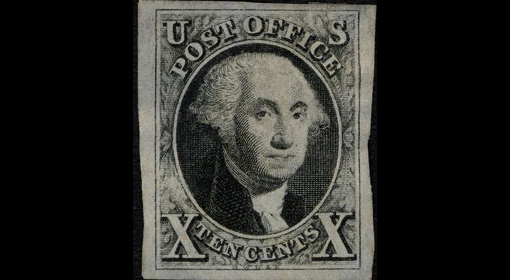 Первые марки США, 1847 год