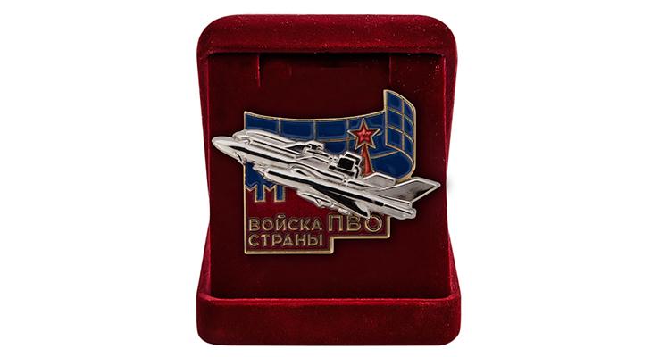 Значок «Войска ПВО страны» - характеристики