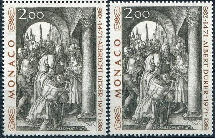 Самые дорогие марки Монако: 500 лет со дня рождения Альбрехта Дюрера