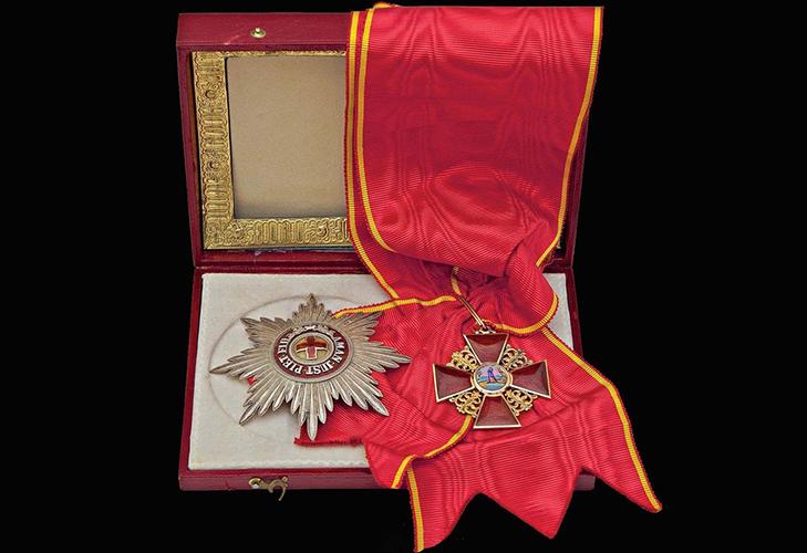 Орден Святой Анны - награда