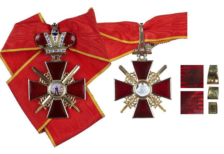 Орден Святой Анны - описание
