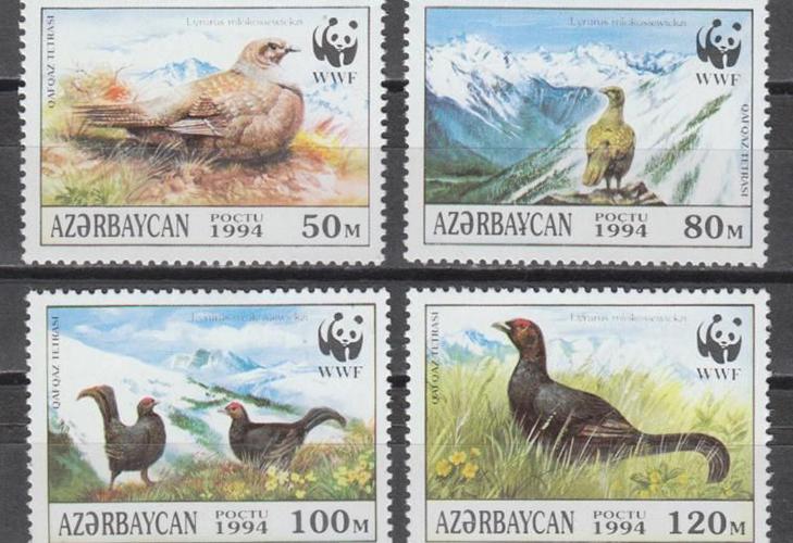 Почтовые марки современного  Азербайджана