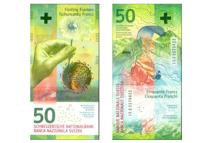 50 швейцарских франков