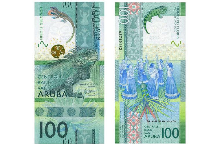 100 арубанских флоринов