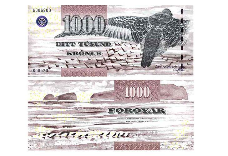 1000 фарерских крон