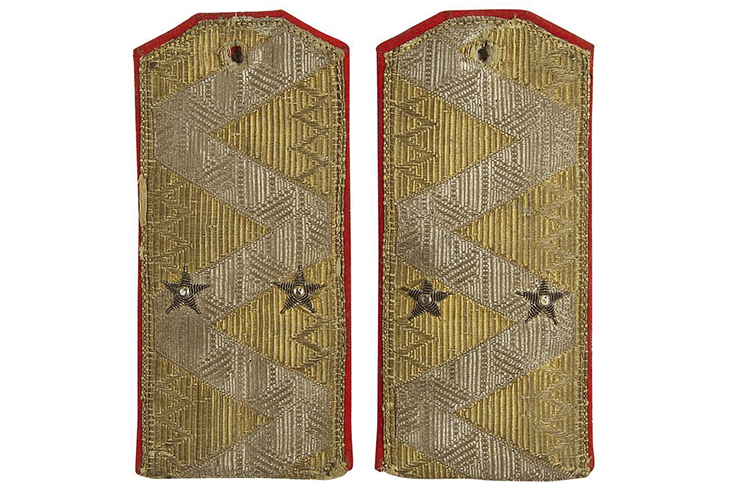 Звезды на погонах в царской России