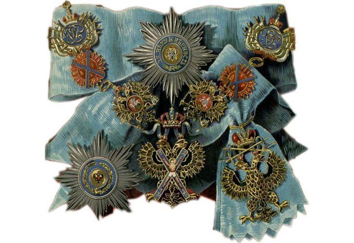 Орден Святого апостола Андрея Первозванного - описание