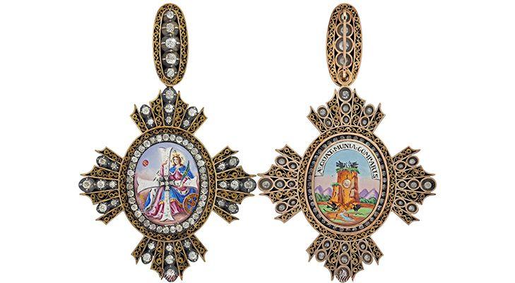 Описание ордена Святой Великомученицы Екатерины