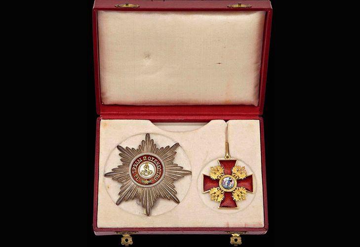Описание ордена «Св. Александр Невский»