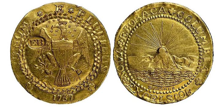Монета Дублон Брашера, США