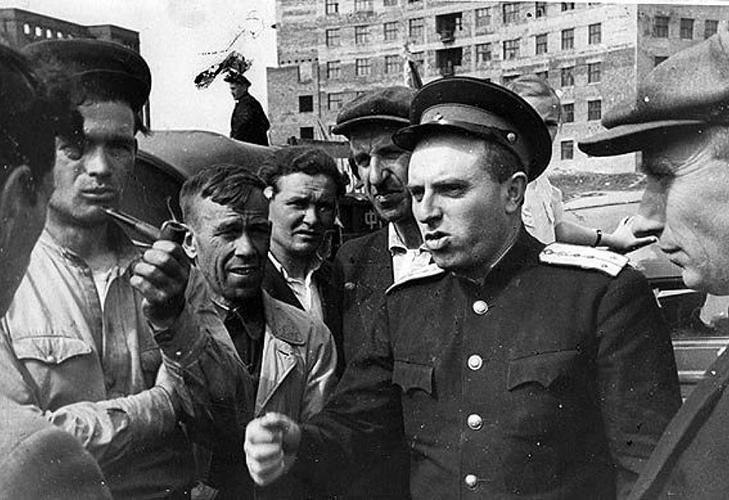 Милиционер после войны