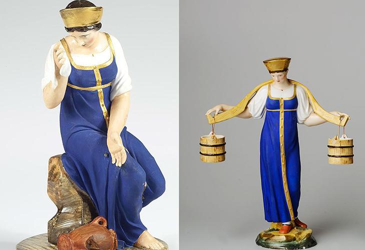 Фарфор XIX века скульптура
