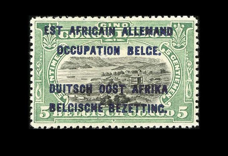 Почтовые марки Бурунди  колониального периода