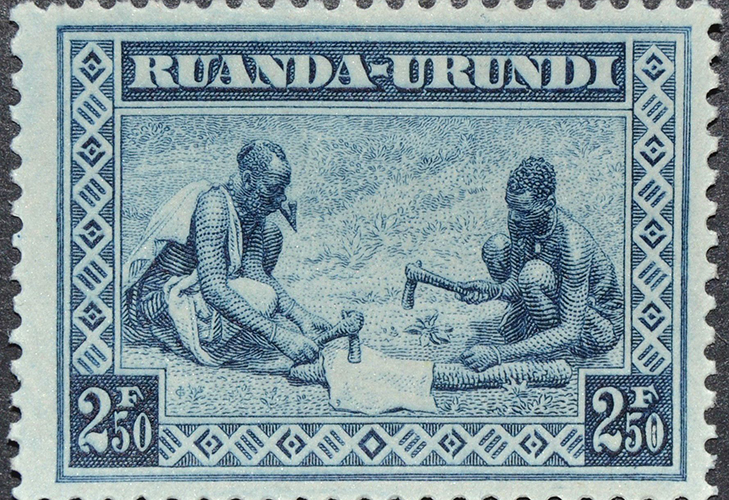 Выпуски Руанды-Урунди